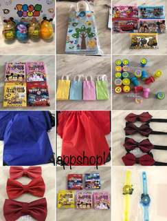 Children birthday party goodies bag, goody bag gift with appshop1