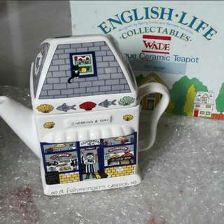Ceramic english teapot