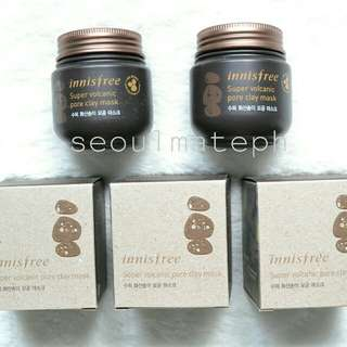 Innisfree Super Volcanic Pore Clay Mask - 100ml