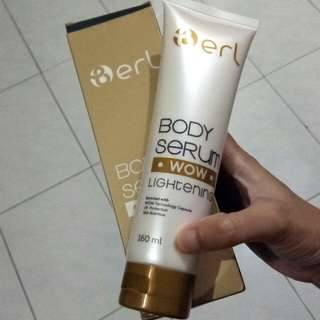 Berl Wow Lightening Body Serum
