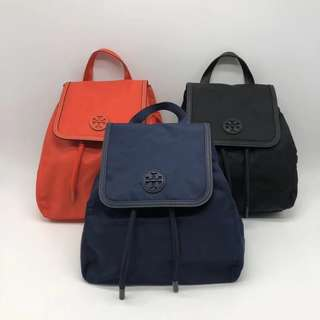 Tory Burch nylon backpack - colour's selection