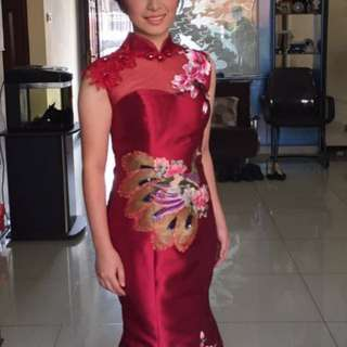 DRESS CHEONGSAM TINGJING