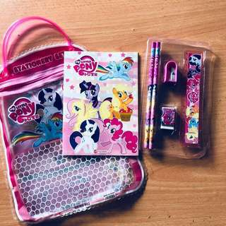 My Little Pony Goodie Bag / Stationery Set / Party Gift