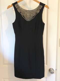 Forever New Sequin Black Dress