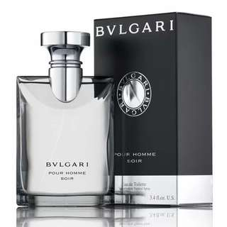 Bvlgari Pour Homme Soir EDT for Men (30ml/50ml/100ml/Tester) Bulgari