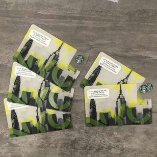 Starbucks NYC Card