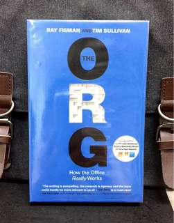 # Highly Recommended《Bran-New + Longlisted For FT and Goldman Sach Business Book Of The Year》Ray Fisman & Tim Sullivan - THE ORG : How The Office Really Works