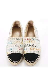 Chanel Graffiti Espadrille