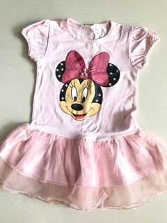 Minnie Mouse Baby Girl Dress - size 110