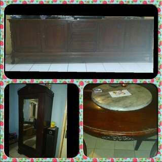 Furniture jati asli