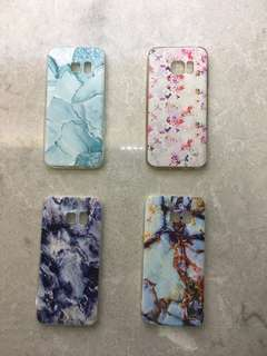 Floral / Marble Samsung Galaxy S7 case
