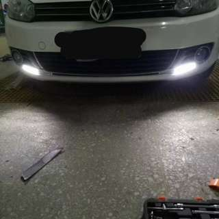 VW Golf Mk6 DRL LED