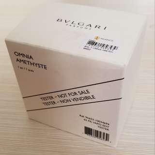 Bvlgari Omnia Amethyste 65ML 100% New tester