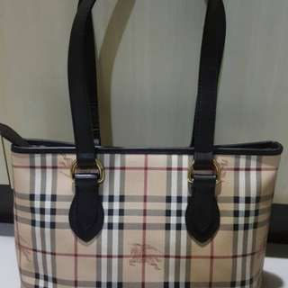 Burberry tote beg