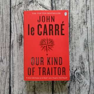 USED BOOK Our Kind of Traitor