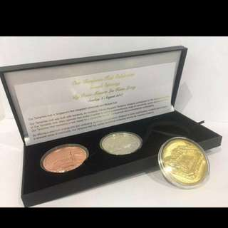 OTH commerative coin set