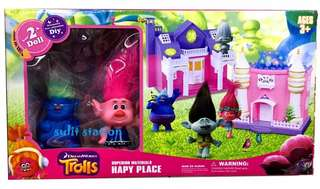 TROLLS AMUSEMENT PLAYGROUND HOUSE TOYS