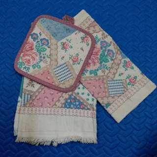 面巾毛巾set