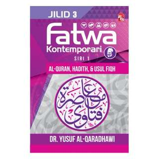 #SALE Fatwa Kontemporari Jilid 3, Siri 1