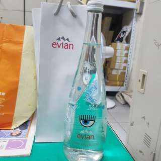 evian玻璃瓶裝水 聯名款