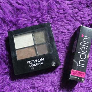 Revlon Color Stay + Indefini Matte Lipstick