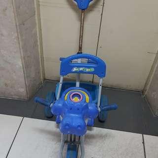 兒童 推車 腳踏車 後控腳踏車