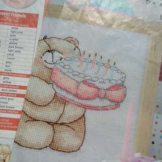 Cross Stitch Chart <Forever Friends>