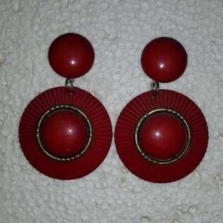 SALE: Red Earrings