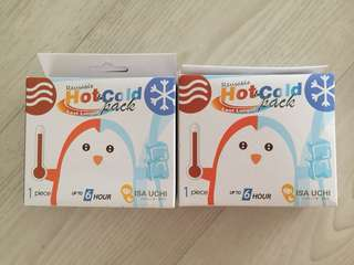 Hot & Ice pack x 2 (each $2)