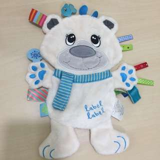 Label label Soft Toy #Baby30