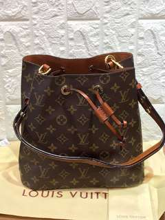 Louis Vuitton Bucket Hobo Bag