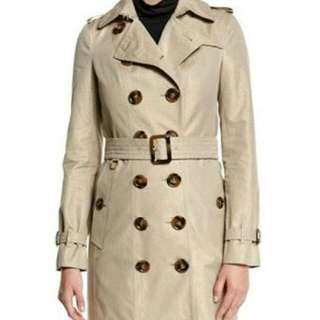 Nude Trench Coat