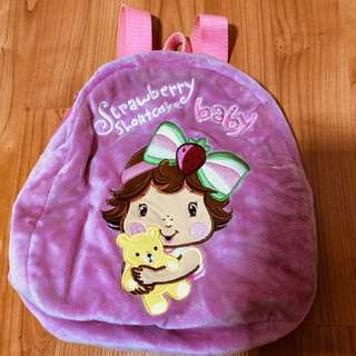 Girl's strawberry shortcake backpack
