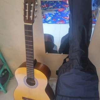 Gitar clasik senar nylon plus tas