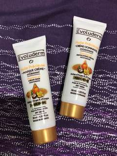Evoluderm cream mask