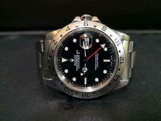 PREOWNED ROLEX EXPLORER II, 16570, Steel, 40mm, A Series @ Year 2000 Mens Watch