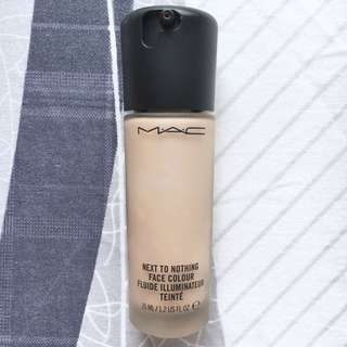 MAC Next to Nothing Face Colour Foundation