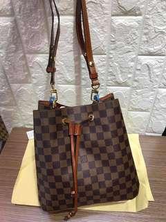 Louis Vuitton Bucket Hobo Bag