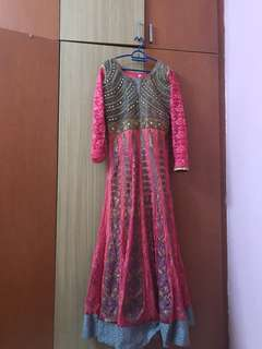 DRESS FOR RENT ( FANCY ANARKALI LONG DRESS)