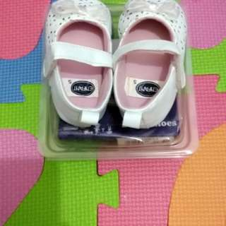 Enfant white shoes for baby 0~6months