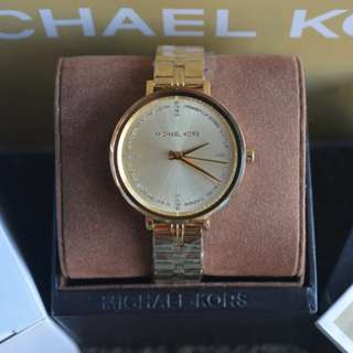 Michael Kors Bridgette Gold-Tone Ladies Watch (MK3792)