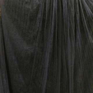 克色暗花九分紗裙