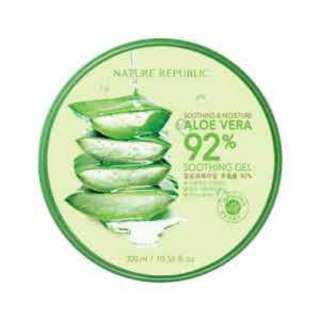 Nature Republic Aloe Vera 92% Soothing Gel 300ml ORIGINAL