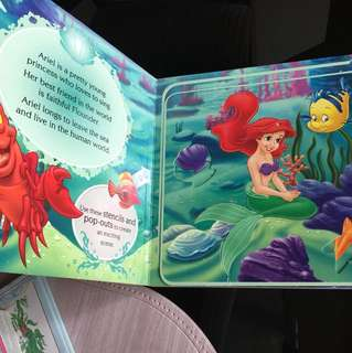 Ariel's stencil books for kids