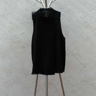 Zara wrap around sleeveless top