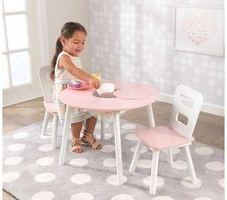 Kid Kraft Pink Table and chairs