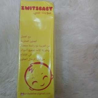 Zwitsbaby perfume ( zwitsal)