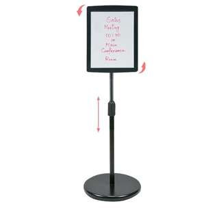 AIDATA : MBS303W - Message Board Floor Stand