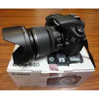 【出售】Canon 60D 數位單眼相機 彩虹公司貨