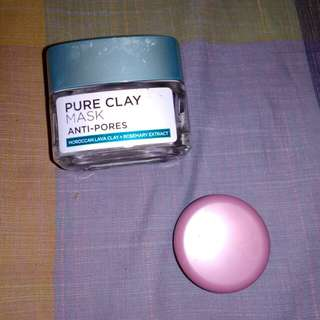 Shate in jar L'Oréal clay mask
